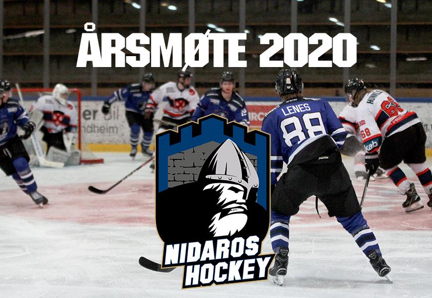 Innkalling til årsmøte i Nidaros Ishockey Junior Elite