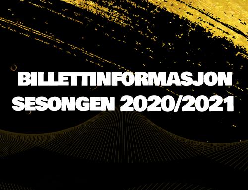 Billettsalg 2020/2021